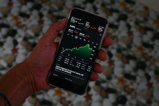 Iphone, Stocks, Market, Shares, Crash, Recession