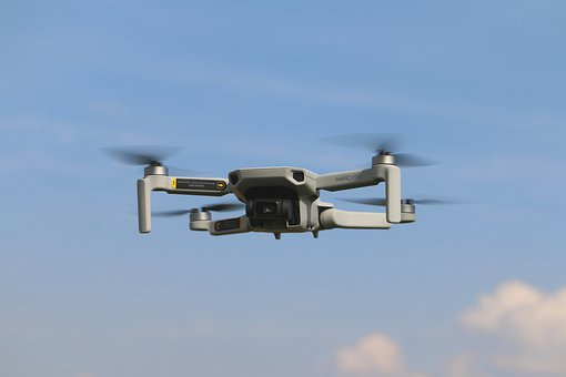 Drone, Quadcopter, Camera, Flying, Propeller