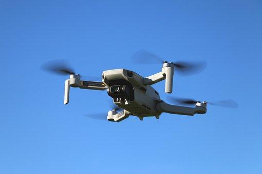 Drone, Dji, Mavic Mini, Camera, Quadcopter, Monitoring