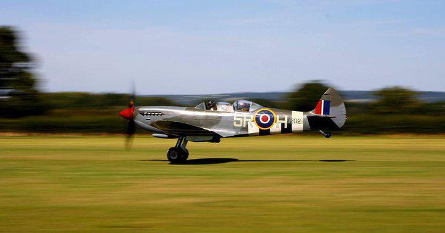 Spitfire, Plane, Aircraft, Ww2, Military, Fighter