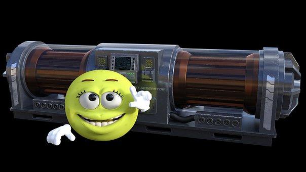 Generator, Fusion, Smiley, Voltage, High, Emoticon