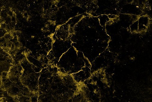 Marble, Abstract, Gold, Background