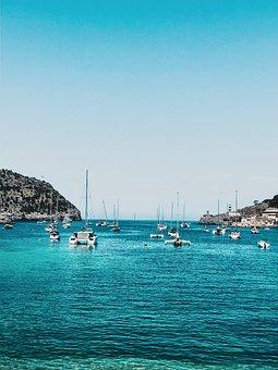 Sea, Harbour, Mallorca, Port De Soller, Travel, Sky