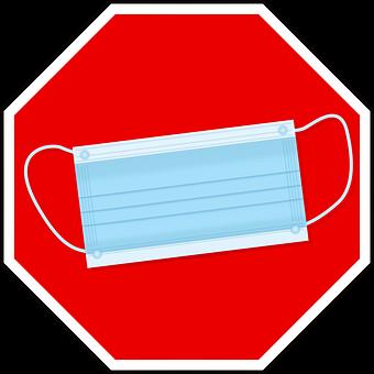 Mask Duty, Stop Sign, Mouth Guard, Respiratory Mask
