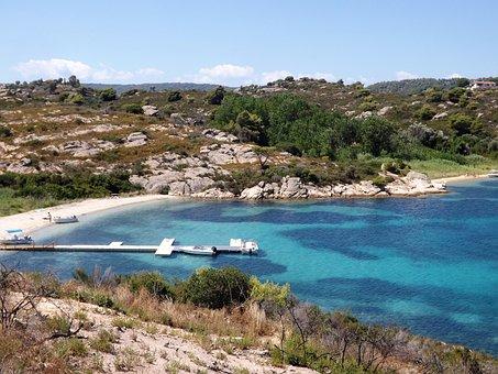 Diaporos, Halkidiki, Sea, Coast, Beach, Travel, Greece