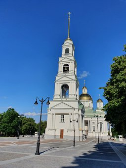 Area, Dome, Bell, City, Penza, Country, Russia, Sky