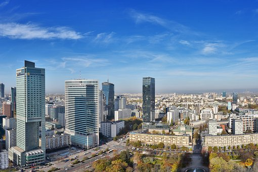 Warsaw, Poland, Architecture, Europe, Travel, Building