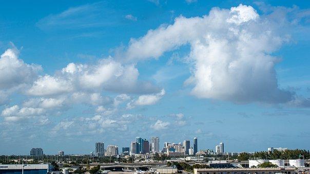 Fort Lauderdale, Cityscape, Florida