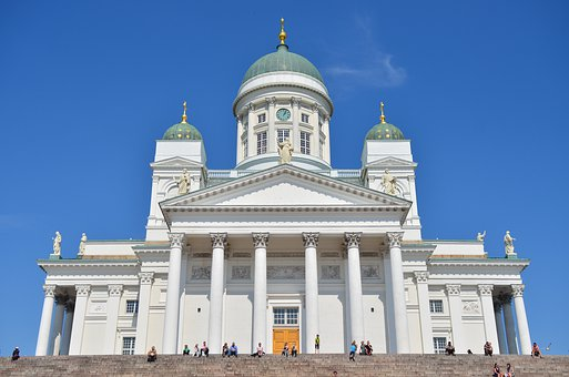 Helsinki, Dom, Church, Finland, Landmark