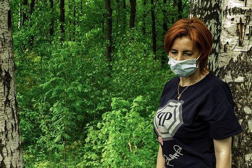 Pandemic, Cavid-19, Mask, Coronavirus, Masked Woman
