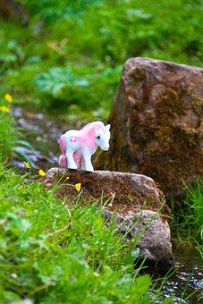 My Little Pony, Toys, Children, Unicorn, Magic, Nature