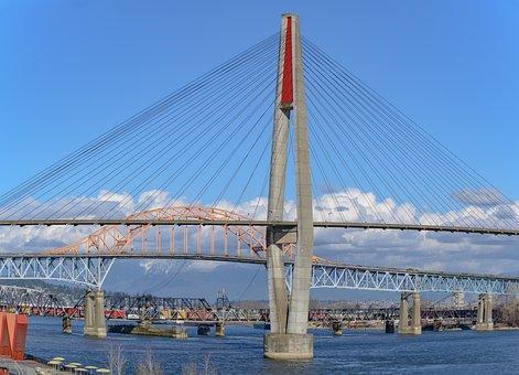 Suspension Bridge, Transportation, Span