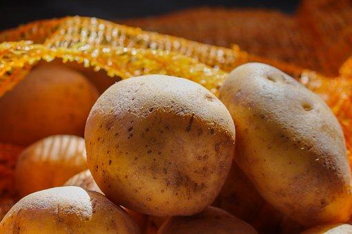 Potatoes, Web, Potato Sack, Stock, Store, Agriculture