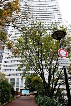 Courbevoie, Tour Charras, Building, Fear Over The City