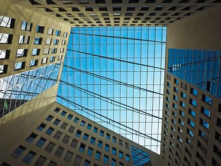 Architecture, Modern, Building, Glass, Skyscraper, Roof