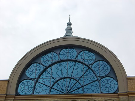 Window, Glass, Glass Facade, Arch, Building