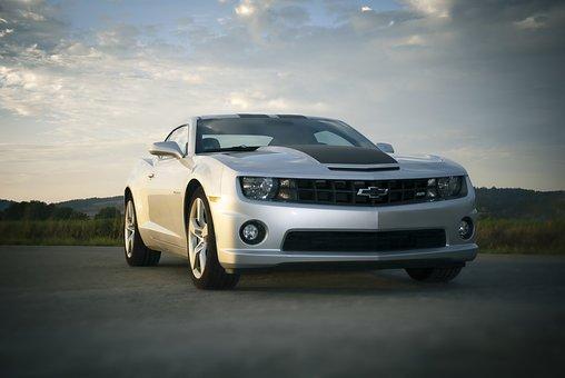 Auto, Chevrolet, Camaro, Road, Sports Car, Automotive