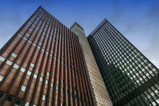 Skyscraper, Cologne, German Wave, Architecture, Facade