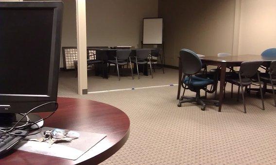 Office, Desk, Furniture, Meeting Room, Business, Work