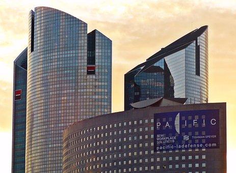 Paris, La Defense, Architecture, France, La Défense