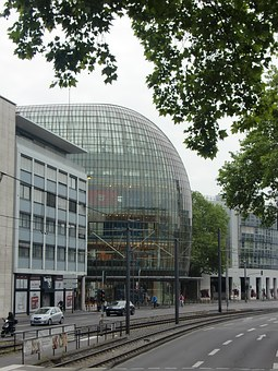 Architecture, Glass, Cologne, Building, Window, Modern