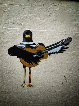 Graffiti, Wall, Graffiti Wall, Street, Artistic