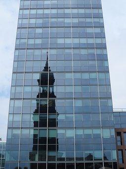 Michel, Hamburg, Steeple, Architecture, St Michaelis