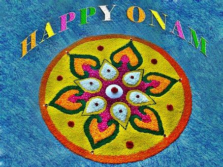 Onam, Atham, Decoration, Celebration, Kerala, Festival