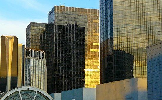 Paris, La Defense, Architecture, La Défense