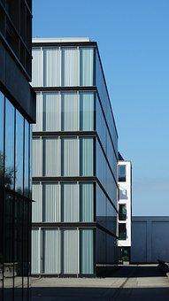Modern, Home, Glass Facade, Facade, Building