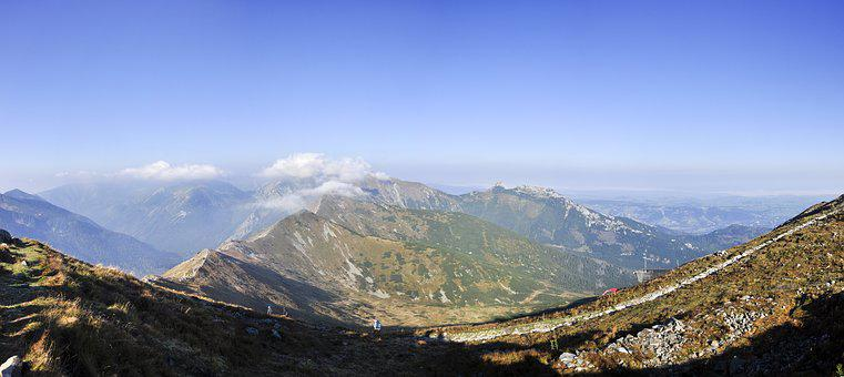 Kasprowy Wierch, Tatry, Mountains, View, Top View