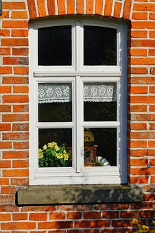 Window, House Wall, Facade, Old House, Frame, Fehnhaus