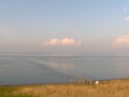 Abendstimmung, Sea, Rest, Silent, Quiet, Calm