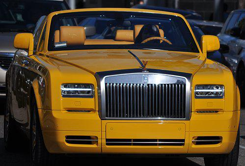Rollsroyce, Beverly Hills, Rich, Wealthy, Car, Beverly