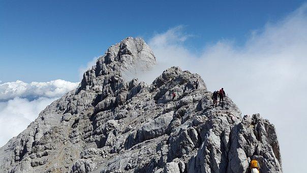Watzmann Middle Peak, Rock, Berchtesgadener Land