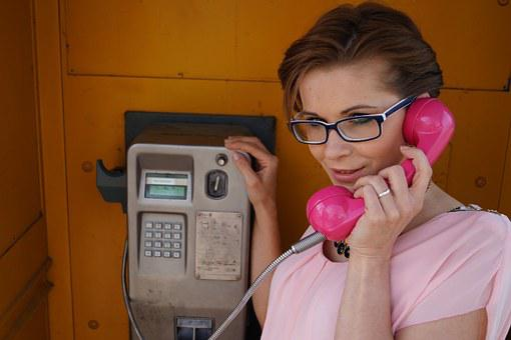 Phone, Woman, Beauty, Pink, Screen, Modern, Advertise