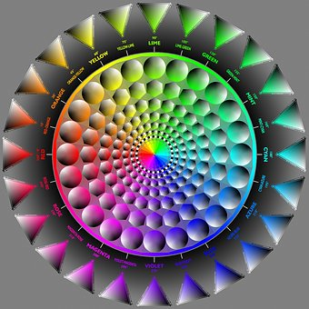 Hwb, Color, Spectrum, Design, Color Wheel