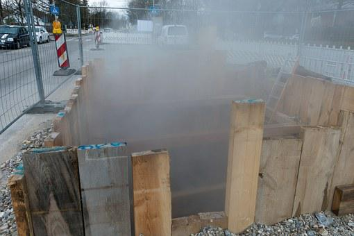 Site, District Heating, Steam, Water Vapor, Leak