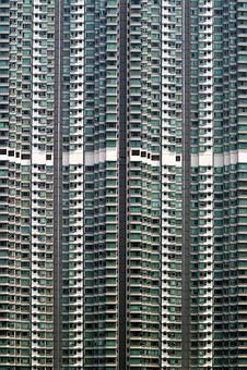 Multi-family Homes, Facade, Glass, Stone, Modern