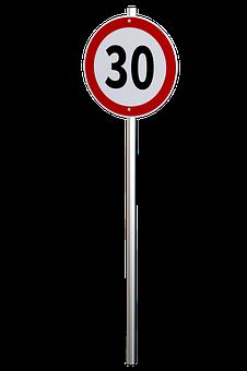 Speed Limit, Traffic Sign, Regulation, Restriction