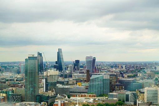 London, Skyline, United Kingdom, England, Building