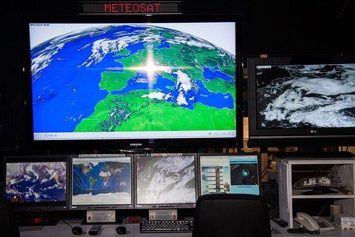 Meteosat, Weather Satellite, Workplace, Meteorologist