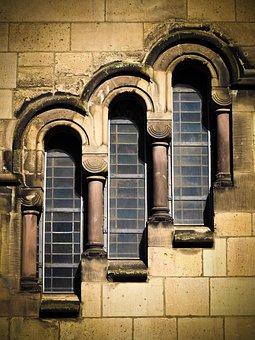 Window, Architecture, Old Window, Facade, Church, Glass