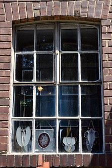 Window, Glass, Jewellery, Old Window, Facade, Old