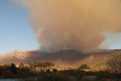Mountain, Fire Site, Cataclysm, Brown Fire