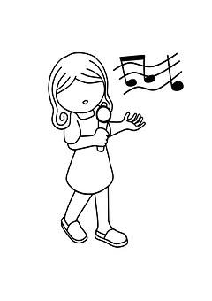 Girl, Singing, Music, Female, People, Singer, Karaoke