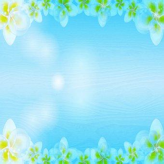 Floral Background, Digital Paper, Template, Paper