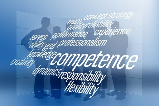 Team, Silhouettes, Businessmen, Competence, Experience