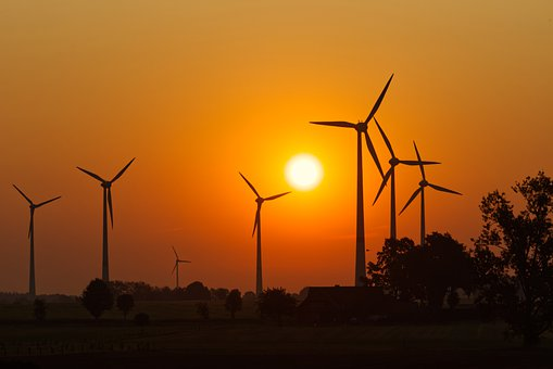 Energy, Sun, Renewable, Electricity, Wind Power