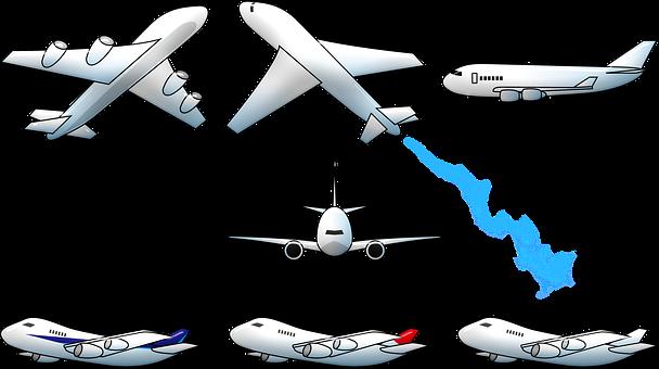 Airplane, Flying, Smoke, Aircraft, Aviation, Flight